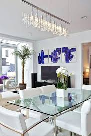 81 wonderful dining room modern glass dining table and chairs