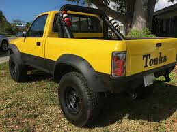 yellow toyota truck for sale 1989 toyota reg cab 4x4 v6 5spd short bed 153k miles
