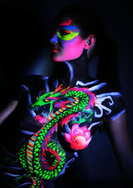 Black Light Body Paint 98 Glowing Black Light Tattoos Add Intensity To Your Ink