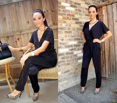 sears jumpsuit kardashians kollection the black jumpsuit