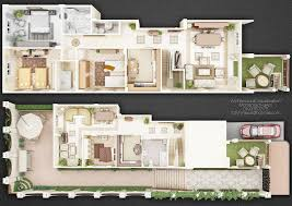 duplex house plans with garden homes zone