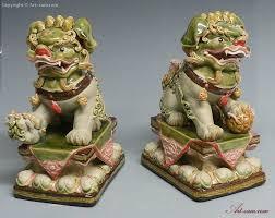 foo dogs statues colour glazed feng shui foo dog ceramic statue sam