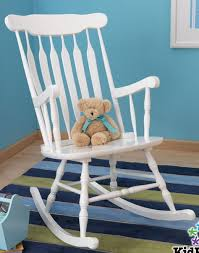 Nursery Wooden Rocking Chair New Large White Wooden Nursery Rocking Chair Indoor Rocker Wooden