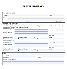Free Travel Itinerary Template Excel Cruise Itinerary Template Organizing With Style Create An