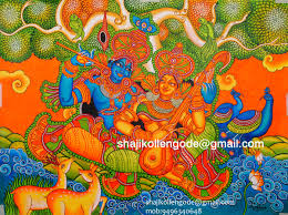 Mural Artist by Radha Madhavam Mural Painting On Sale U2013 Mural Painting Done By