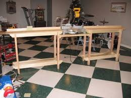 136 best workshop miter saw tables images on pinterest woodwork