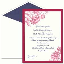 Layered Wedding Invitations Clematis Layered Letterpress Wedding Invitation Cards Paperstyle