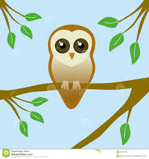 cute barn owl stock vector image 52870706