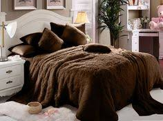 Fur Bed Set Another Great Find On Zulily Silver Faux Rabbit Fur Comforter