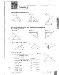 similar triangles and pythagorean triples 8th 10th grade