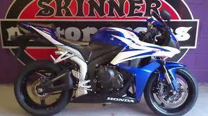 2009 honda cbr 600 honda cbr 600 rr 7 2008 registered blue white one owner fsh