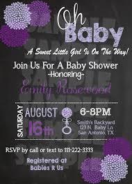 baby shower invitation flower chalkboard invitation printable 5
