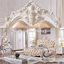 white fancy french style 8 pieces home bedroom furniture set buy