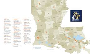 Parish Map Louisiana by Maps Of The Largest Projects Driving The Louisiana Industrial Boom