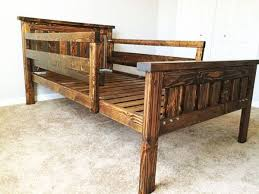 Woodworking Plans Twin Bed Frame by 108 Best Bed Frame Plans Images On Pinterest Bed Frame Plans