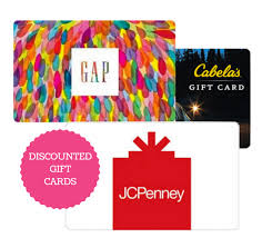 buy gift cards at a discount great deals on discounted gift cards