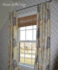 Hanging Curtains High For Hanging Curtains Hide Caption Show Caption Curtains Are Hung
