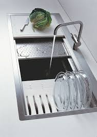 Best Kitchen Counters Sinks Faucets Images On Pinterest - Kitchen sinks design