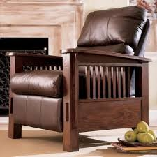 mission style recliner home furnishings