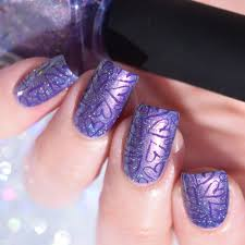 ilnp yours truly girly bits she u0027s got grape tips lina nail
