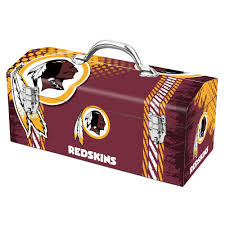 team promark 7 2 in washington redskins nfl tool box 79 331 the