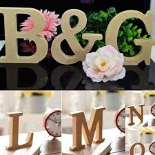 Home Decor Stores In Arizona Imported Wood Full Letters Alphabet Wedding Party Home Decor A Z