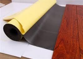 soundproof 2mm black ixpe foam laminate flooring underlayment with