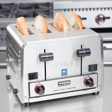 Commercial Sandwich Toaster Oven Waring Wct855 Heavy Duty Switchable Bread And Bagel 4 Slice