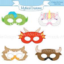 printable lizard mask template mythical creatures printable masks unicorn dragon mask