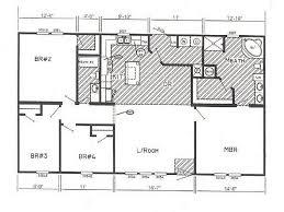 Triple Wide Floor Plans Miscellaneous Manufactured Homes Floor Plans Interior