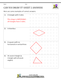 identify triangles worksheet identify the quadrilateral counting