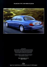 jaguar cars jag lovers brochures a new s type brochure page