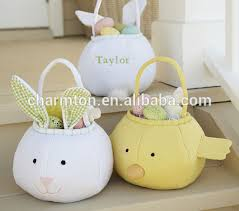 plush easter basket easter plush bunny basket easter plush bunny basket suppliers and