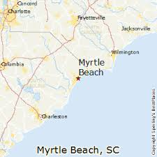 south carolina beaches map best places to live in myrtle south carolina