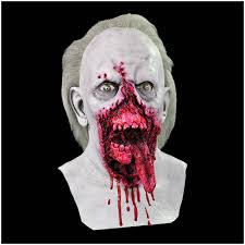 day of the dead zombie halloween mask biter zombie halloween mask mad about horror
