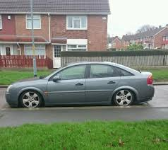 vauxhall vectra modified lowered stanced in middlesbrough