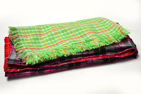 Green Throw Rug How To Make A Flannel Throw Blanket 13 Steps With Pictures