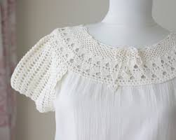 womens cotton blouses cotton crochet top embroidered crochet blouse womens summer
