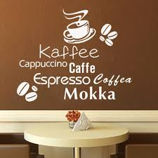 popular removable wall murals buy cheap removable wall murals lots delicious coffee cup vinyl quote removable wall stickers diy home decor bakery cafe shop kitchen wall