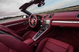 pink porsche interior yep the 2017 porsche 718 boxster sounds just like a wrx