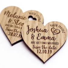 save the date wedding magnets wooden save the date wedding magnets personalised wood fridge