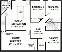 Walkout Basement Plans by Design A Basement Floor Plan Floor Plans For Ranch Homes With