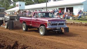 1977 Ford Truck Mudding - 1977 f250 highboy harrisville truck pull youtube