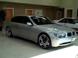 used bmw 745li 04 bmw 745li silver titan auto sales in worth il