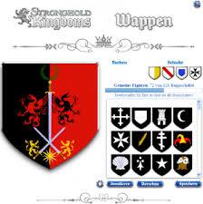wappen designer official stronghold kingdoms wiki wappen