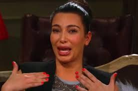 Kim Kardashian Crying Meme - can you guess why kim kardashian is crying