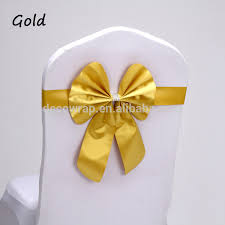 yellow chair sashesaffordable wedding favors flower chair sash flower chair sash suppliers and manufacturers