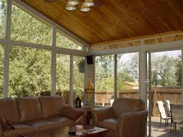 Decorating Screened Porch Decoration Ideas Chic Screened Porch Decoration Using Cream