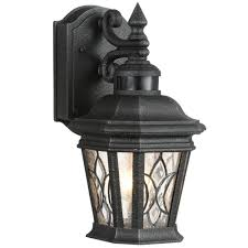 Motion Sensor Light Home Depot Progress Lighting Cranbrook Collection 1 Light Outdoor Gilded Iron