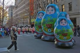 seattle macys thanksgiving parade russian nesting dolls matryoshka